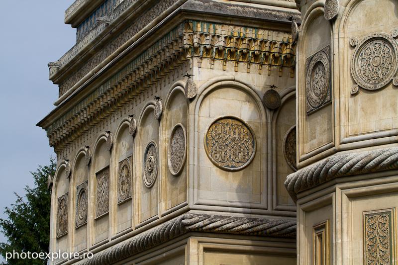Manastirea Curtea de Arges - detaliu exterior